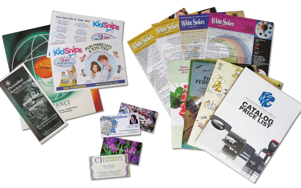 Paper Printing - Postcards, Business Cards, Flyers, Folders and ...